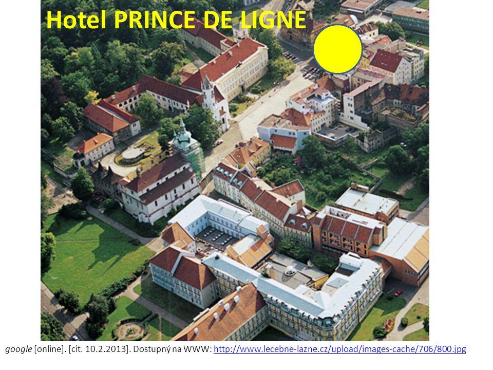 Hotel PRINCE DE LIGNE google [online]. [cit. 10.2.2013].